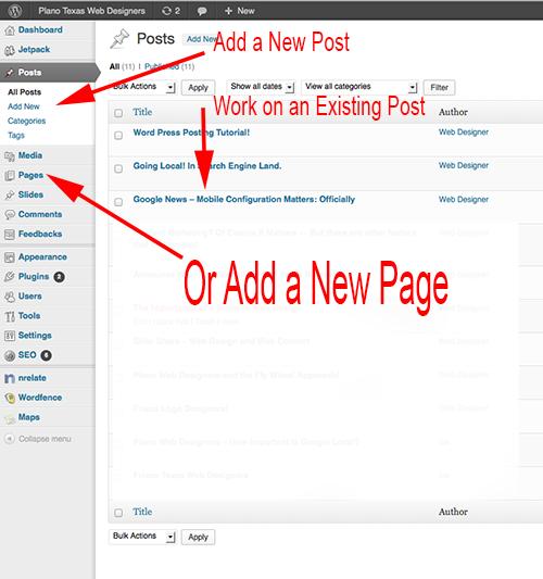Word_Press_Tutorial_Posting